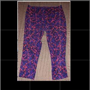 Nike Dri Fit capris  purple and pink